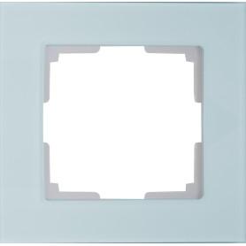 Рамка для розеток и выключателей Werkel Favorit 1 пост, цвет прозрачный