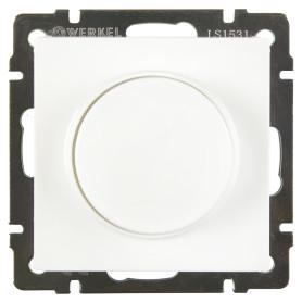 Диммер встраиваемый Werkel 600 Вт, цвет белый