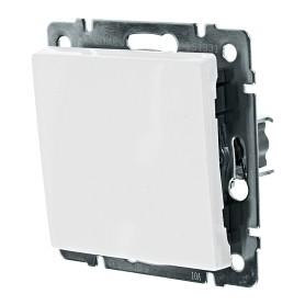 Выключатель проходной встраиваемый Werkel 1 клавиша, цвет белый