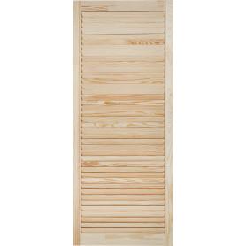 Дверка жалюзийная 1205х494х20 мм хвоя сорт А