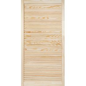Дверка жалюзийная 1205х594х20 мм хвоя сорт А