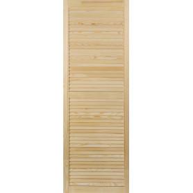 Дверка жалюзийная 1505х494х20 мм хвоя сорт А