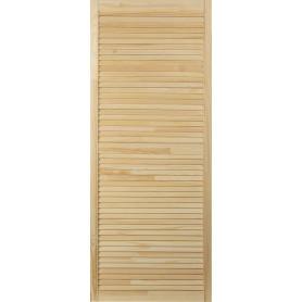 Дверка жалюзийная 1505х594х20 мм хвоя сорт А