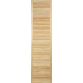 Дверка жалюзийная 1995х494х20 мм хвоя сорт А