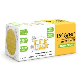 Утеплитель Isover Плита 50 мм 5.76 м²