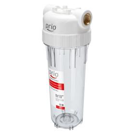 """Корпус  Новая Вода SL10 AU 022 Prio для холодной воды , 1/2"""", цвет прозрачный"""