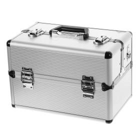 Ящик-органайзер Dexter 365х225х250 мм, алюминий/двп, цвет серебро