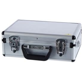 Ящик для инструмента Dexter 330х230х120 мм, алюминий/двп, цвет серебро