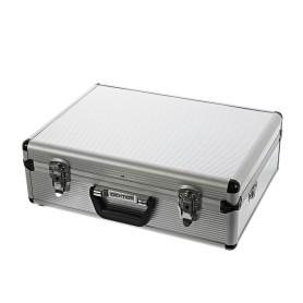 Ящик для инструмента Dexter 455х330х152 мм, алюминий/двп, цвет серебро