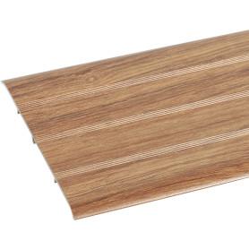 Порог одноуровневый (стык) Artens скрытый 100х900 мм цвет орех