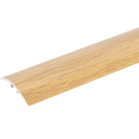 Порог разноуровневый (кант) Artens скрытый 30х900х0-8 мм цвет бук