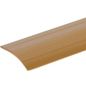 Порог разноуровневый (кант) Artens, 40х900х3-10 мм, цвет золото