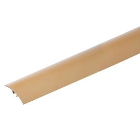 Порог разноуровневый (кант) Artens скрытый, 40х1800х0-8 мм, цвет золото