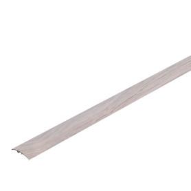 Порог разноуровневый (кант) Artens скрытый 40х1800х0-8 мм цвет дуб белый