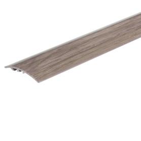 Порог разноуровневый (кант) Artens 40х1800х0-8 мм цвет венге