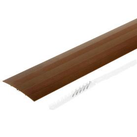 Порог одноуровневый (стык) Artens 100х900 мм цвет медь