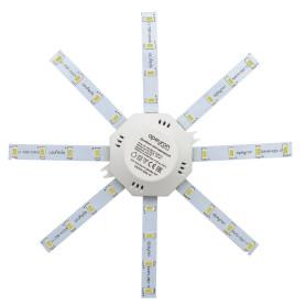 """Линейки светодиодные """"Звездочка"""" 180 мм 12 Вт, 900 мл, свет холодный белый"""