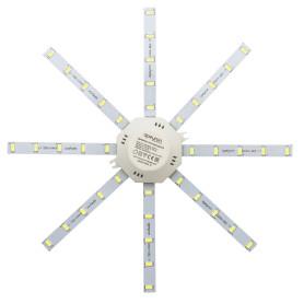 """Линейки светодиодные """"Звездочка"""" 220 мм 16 Вт, 1200 лм, свет холодный белый"""