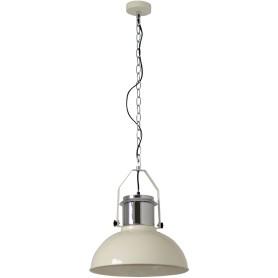 Подвесной светильник Inspire Ted 1xE27x60 Вт, 38 см, металл белый