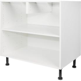 Каркас напольный 80x70x56 см, ЛДСП, цвет белый