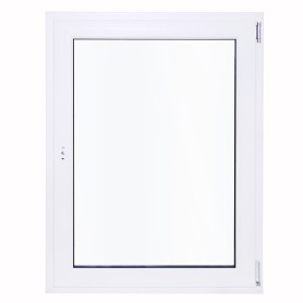 Окно ПВХ одностворчатое 120х80 см поворотное правое одно стекло