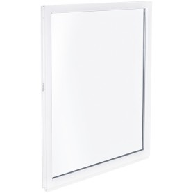 Окно ПВХ одностворчатое 90х60 см глухое однокамерное