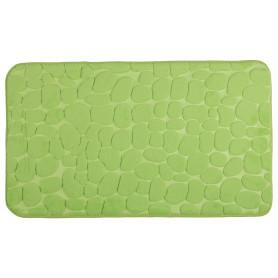 Коврик для ванной комнаты «Luxury» 45х75 см цвет зелёный
