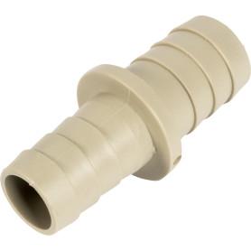 Штуцер пластиковый для сливных шлангов 19х22 мм, пластик