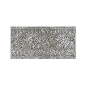Декоративный подступенник Gris 15х33 см клинкер цвет серый