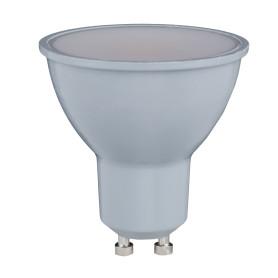 Лампа светодиодная Lexman GU10 7.5 Вт 600 Лм свет тёплый белый