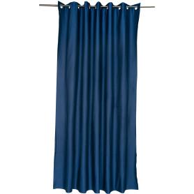 Штора на люверсах «Ритм» 200х260 см цвет синий