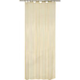 Тюль на ленте 140x260 см органза цвет золотой