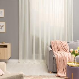 Тюль на ленте Polyone Cream 500x280 см цвет экрю