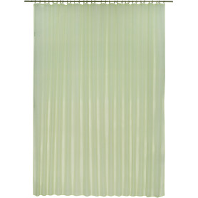 Тюль на ленте Polyone 300х280 см цвет зеленый