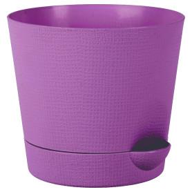 Горшок цветочный Тек.А.Тек Партер ø15 h13.5 см v1.4 л пластик сиреневый