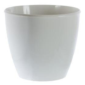Горшок цветочный «Колорс» D15, 21л., пластик, Белый, Бежевый