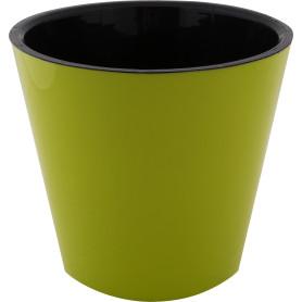 Горшок цветочный «Фиджи» D23, 5л., пластик, Зеленый