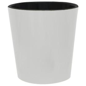 Горшок цветочный «Фиджи» D33, 16л., пластик, Белый