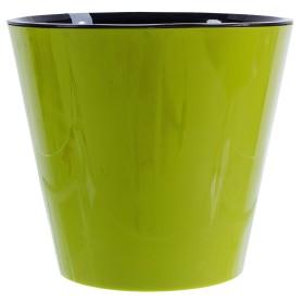 Горшок цветочный «Фиджи» D33, 16л., пластик, Зеленый