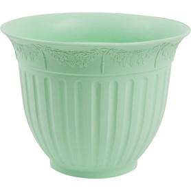 Кашпо цветочное «Виноград», D26, 4л. пластик, Зеленый