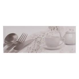 Декор «Bingo IC» 40х15 см посуда цвет белый
