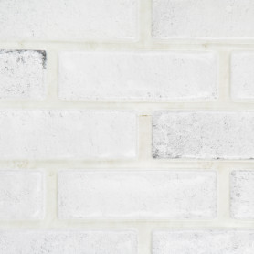 Панель ПВХ листовая 0.3 мм 960х485 мм Камень белый 0.47 м²