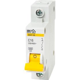 Выключатель автоматический IEK Home В А47-29 1 полюс 16 А