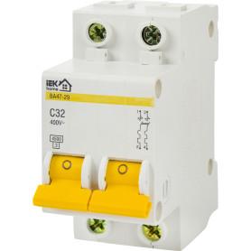 Выключатель автоматический IEK Home В А47-29 2 полюса 32 А