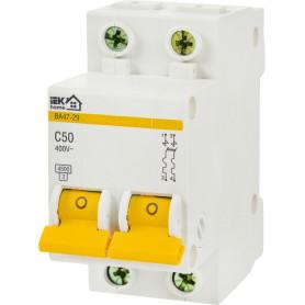 Выключатель автоматический IEK Home В А47-29 2 полюса 50 А