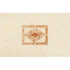 Декор «Ресса» 25x40 см цвет бежевый