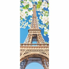 Фотообои бумажные «Эйфелева башня» 100x270 cм