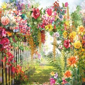 Фотообои бумажные «Сад» 210х200 cм