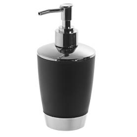 Дозатор для жидкого мыла настольный «Альма» цвет чёрный