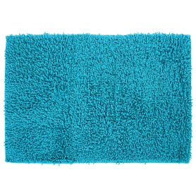 Коврик для ванной комнаты «Crazy» 50x70 см цвет голубой